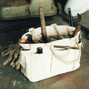 ヘビーキャンバスツールトートバッグ