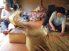 日本のかご①-真竹かご・篠竹のかご・茨城のかご-