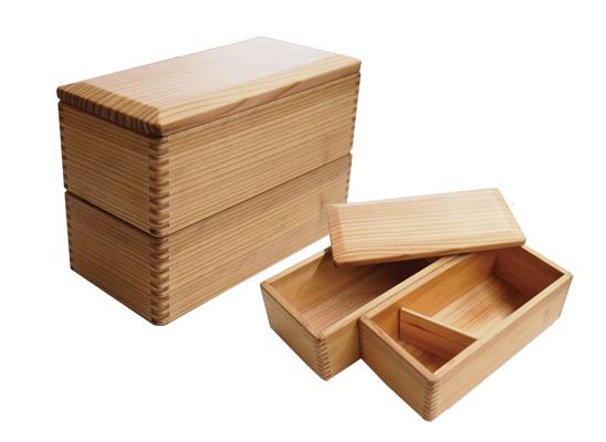 宮崎杉の弁当箱