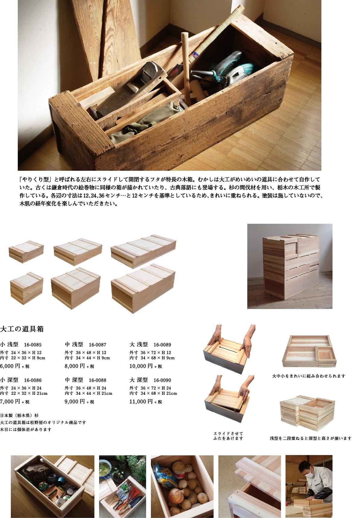 大工の道具箱